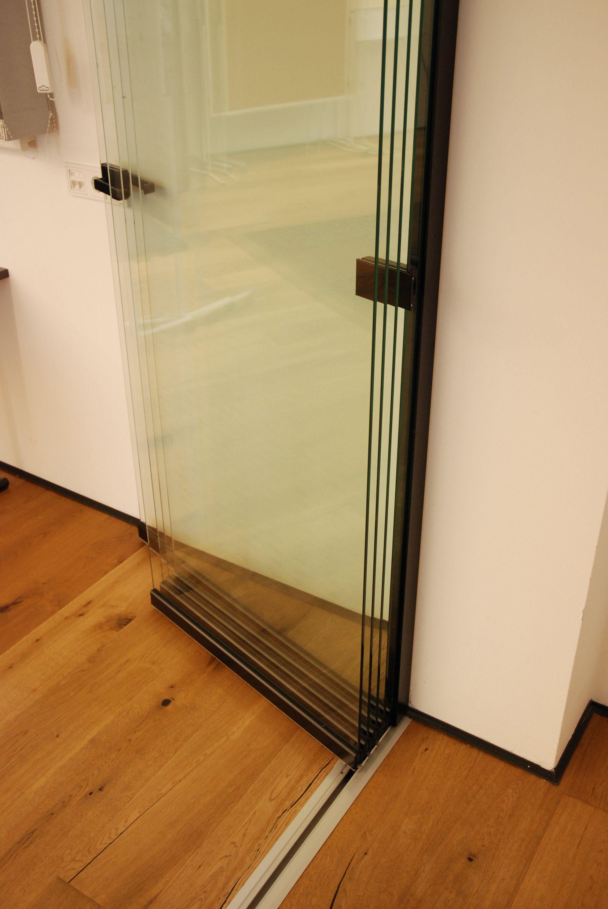 Falttur Glastur Fur Innenbereich Falttur Glas Glasschiebetur