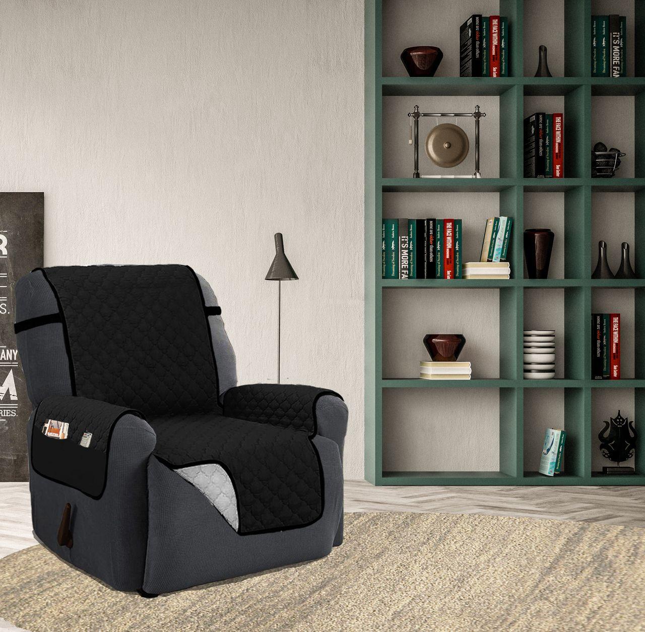 Fabulous Quilted Reversible Microfiber Furniture Recliner Pet Spiritservingveterans Wood Chair Design Ideas Spiritservingveteransorg