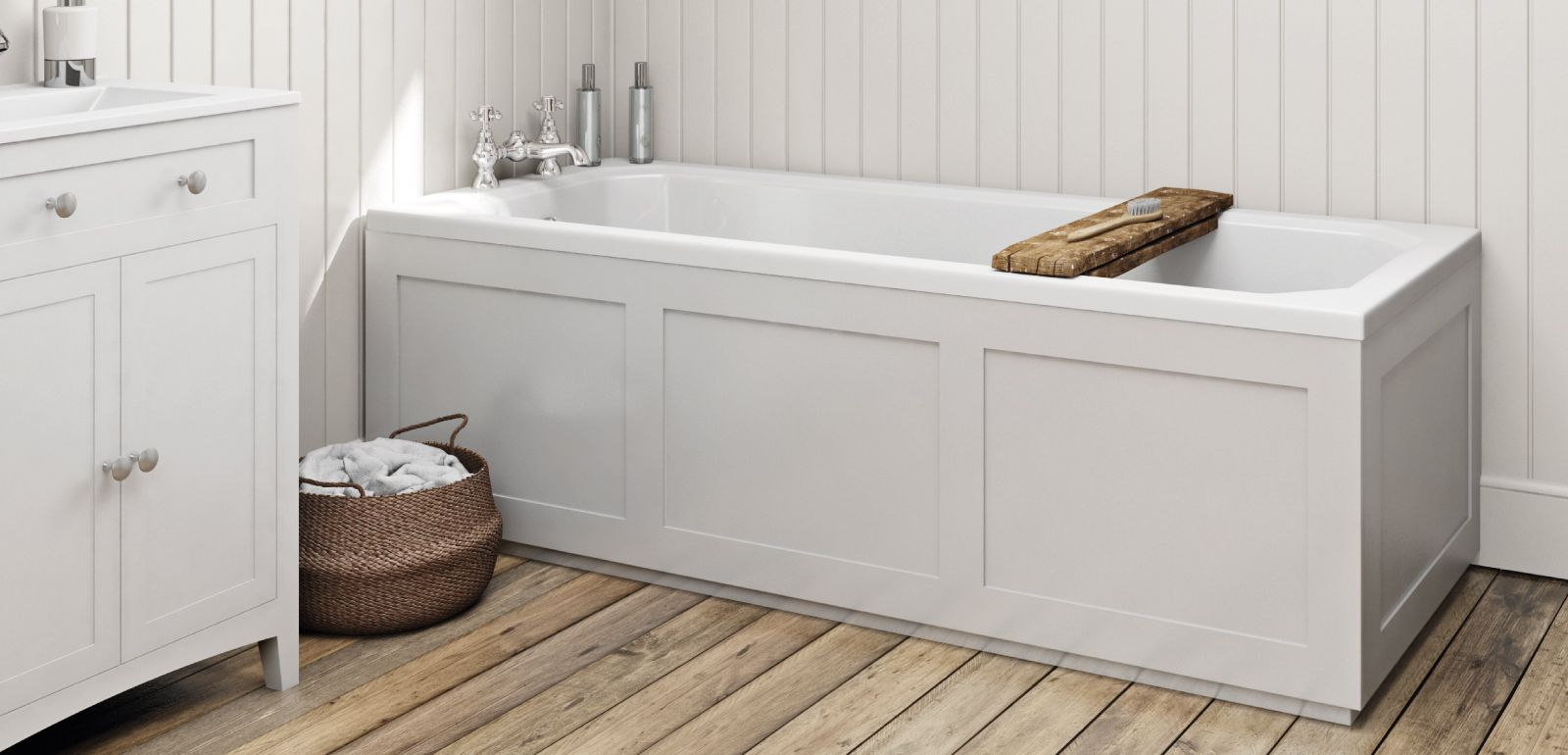 How to fit a wooden bath panel | Pinterest | Bath panel, Tiny ...
