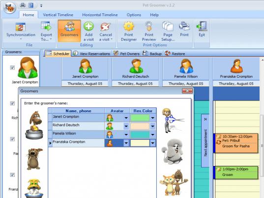 Pet Groomer Screenshot 1 Pet Groomers Groomer Dog Grooming Salons