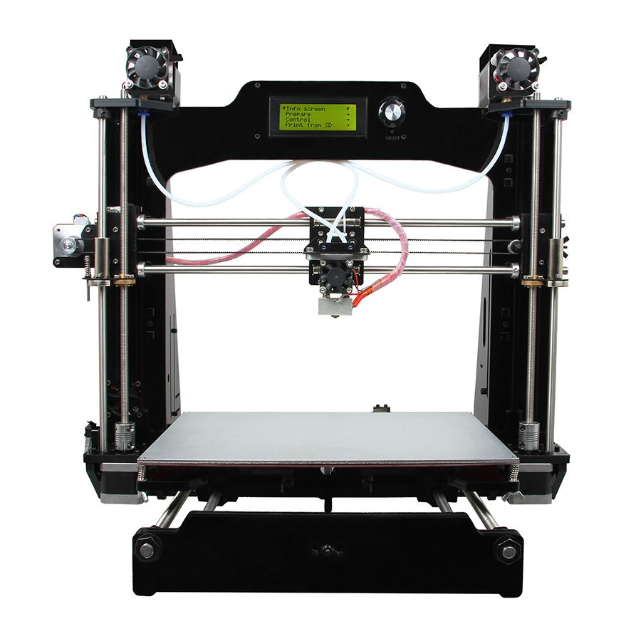 427.70$  Buy here - http://alie60.worldwells.pw/go.php?t=32791265723 - Ship from Australia M201 3D Printer 2-In-1-Out Extruder Reprap Prusa I3 DIY Kit Support .STL, G-code File Format