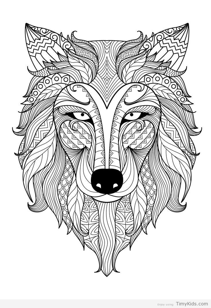 http timykids com mandala animals coloring pages html