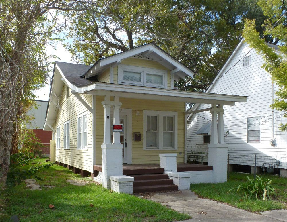 Shotgun House A Craftsman Shotgun House With A Flared