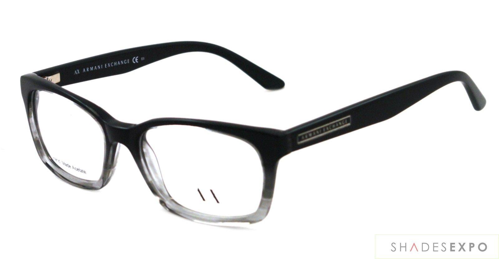 32af06d53e NEW Armani Exchange Eyeglasses AX 232 BLACK E4S AX232 AUTH ...