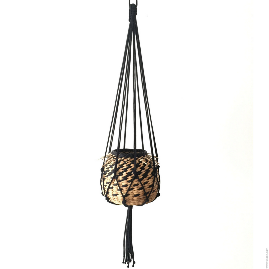 Macrame hanger by TEX MB. See more at www.texmb.com