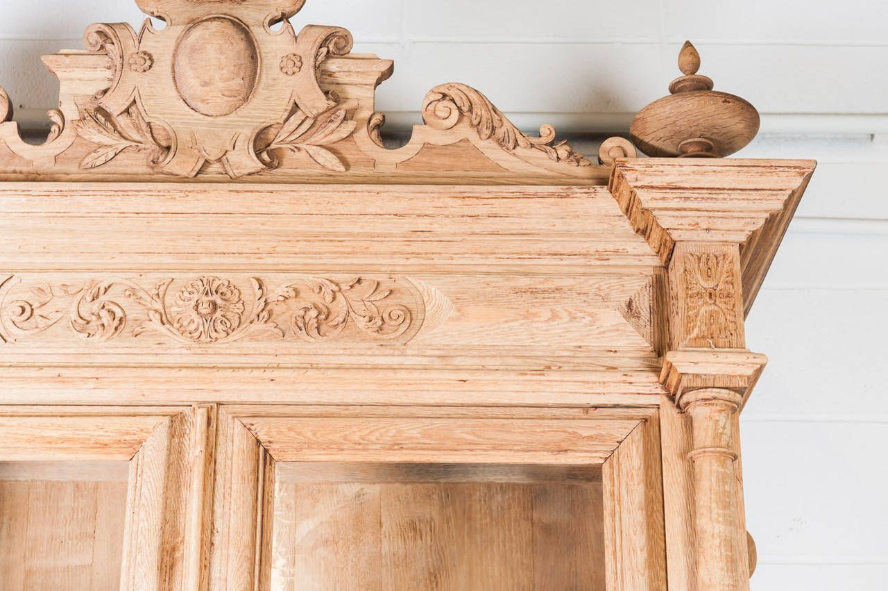 French Louis XIII Chateau Buffet Deux Corps | From a unique collection of antique and modern buffets at https://www.1stdibs.com/furniture/storage-case-pieces/buffets/