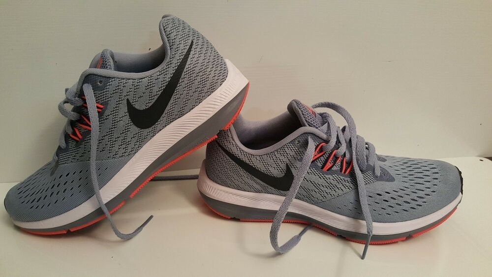 a7d64561f8efe Nike Women's Air Zoom Winflo 4 Running Shoes 898485-002 Size 6 ...