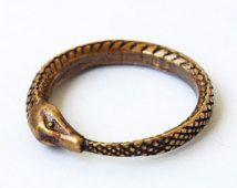 Snake eat tail ring, Snake ring, Snake jewelry, Ring, Brass ring, Rings, Modern ring, Fashion ring, Woman rings, Ring for she