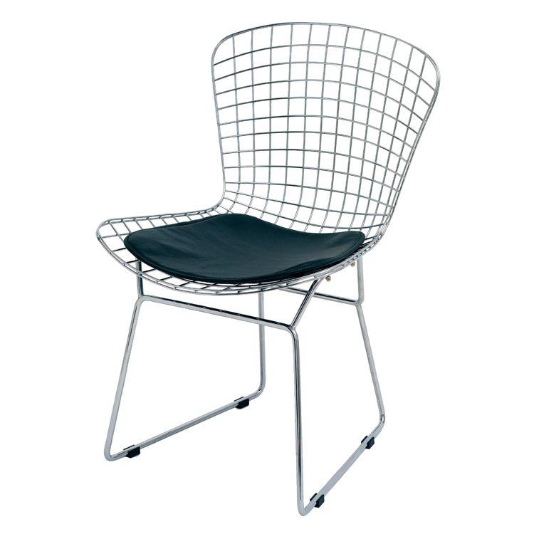 Wireback Dining Chair, Black – Nuevo