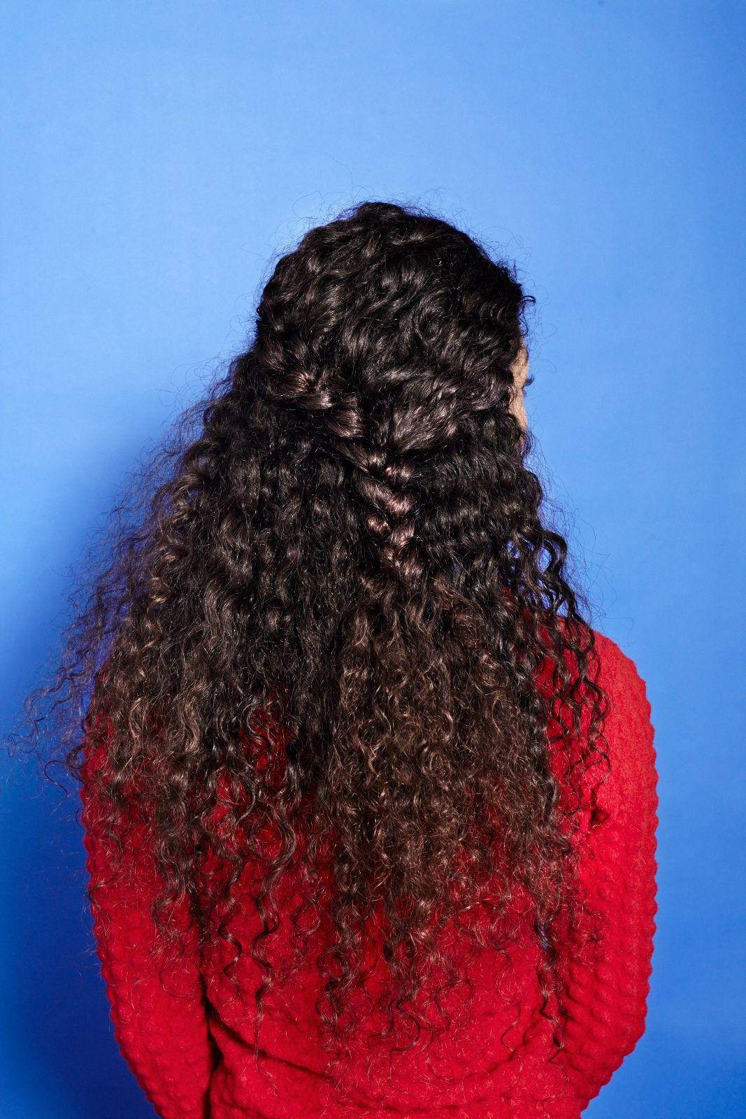 How to braid curly hair cute plait styles curly girl curly and