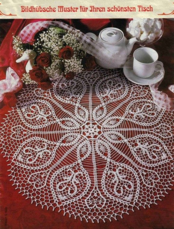 Crochet Lace Mat Crochet I Love These And Especially Love All