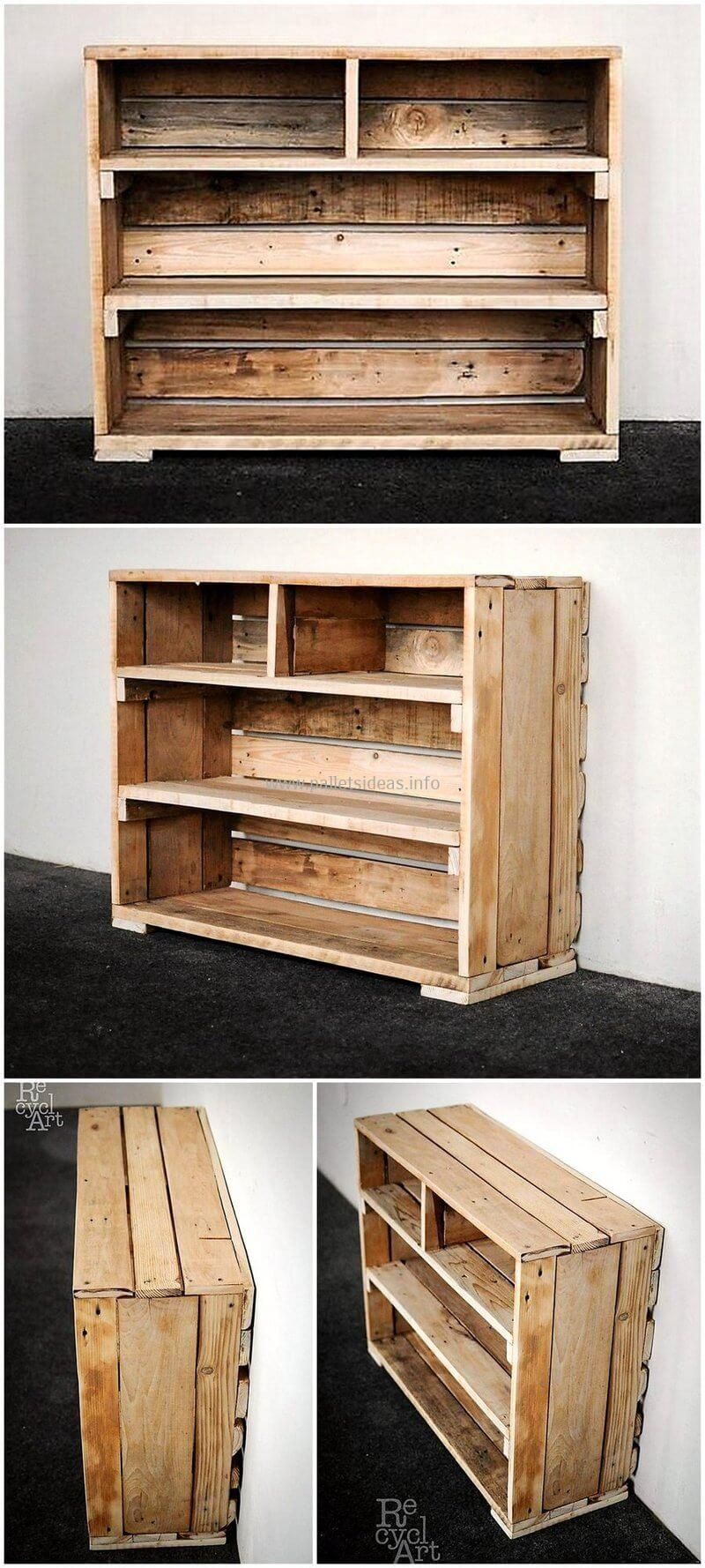 30 Cool and Fresh Wood Pallet Recycled Ideas #oldpalletsforcrafting