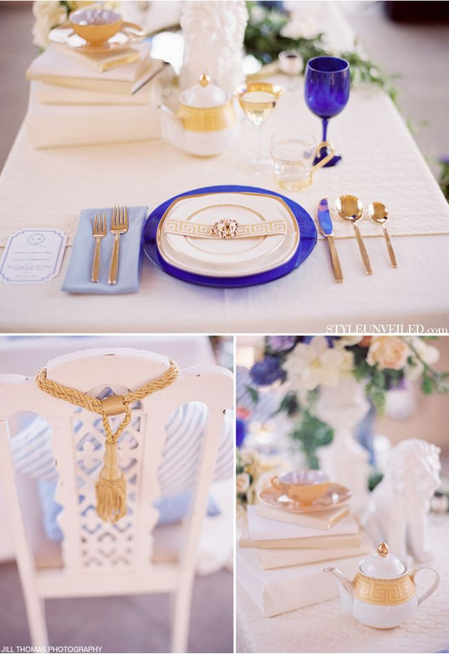 Bridal Shower Decor Greek Wedding Theme Grecian Wedding Wedding Reception Chairs