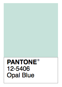 Opal Blue Vintage Colour Palette Colors Wall Paint Color
