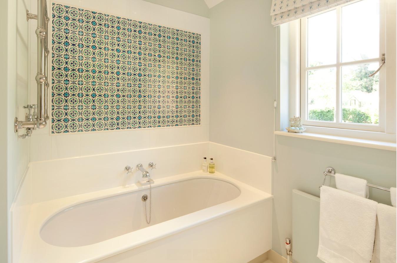 Girls\' bathroom/ shower tile feature. single side only   Children\'s ...