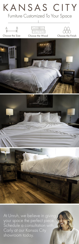 Lake House Platform Bed | Decoración