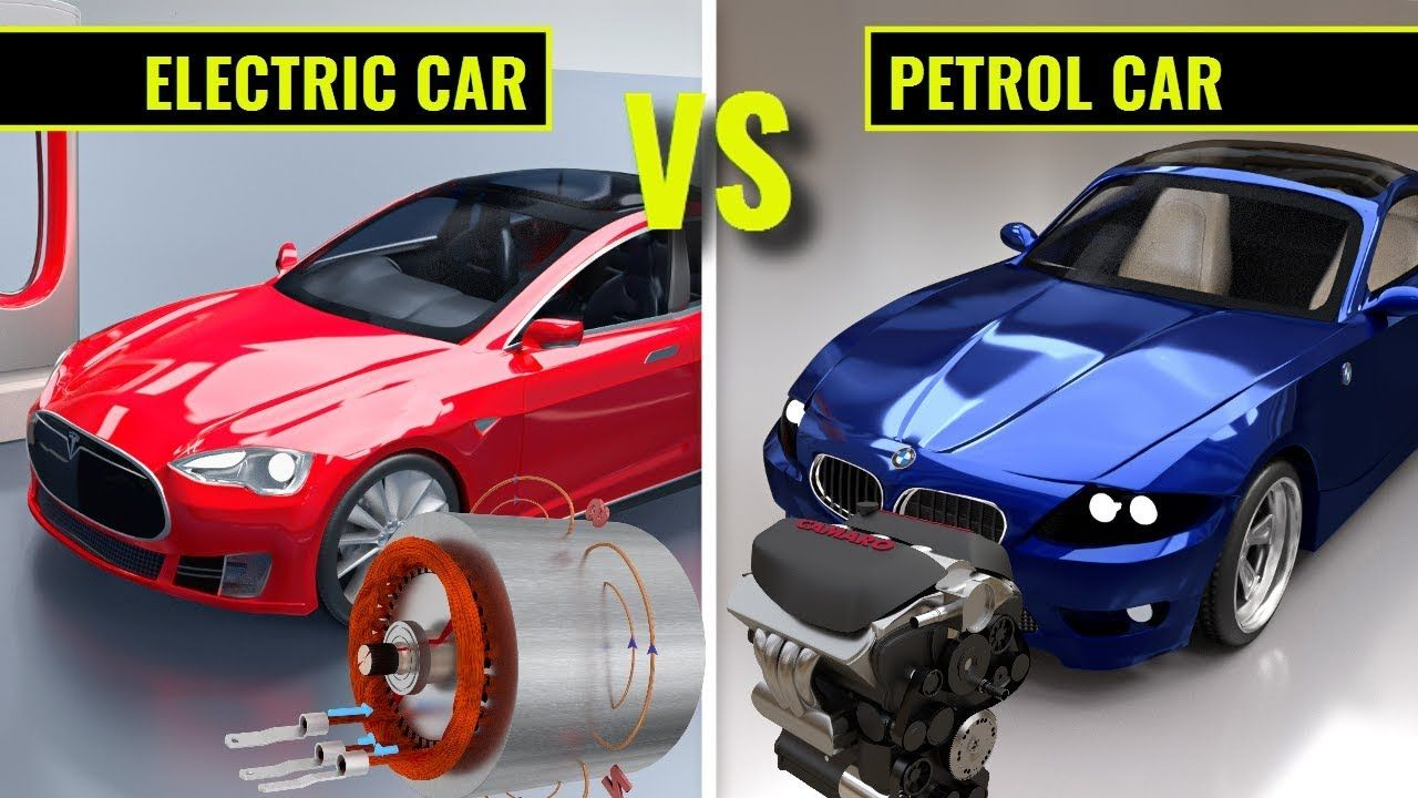 Electric Car Vs Petrol Car Thingssimplified Car Engineering