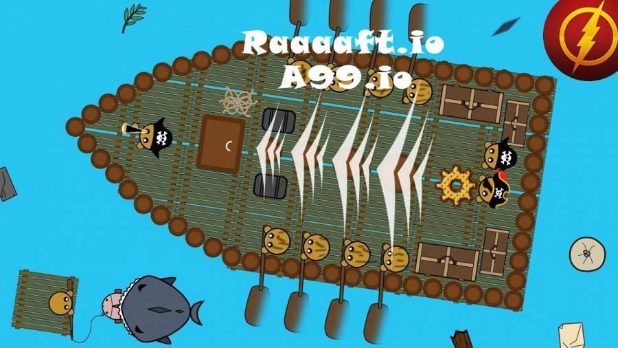 Play raaaaft io unblocked on a99.io.