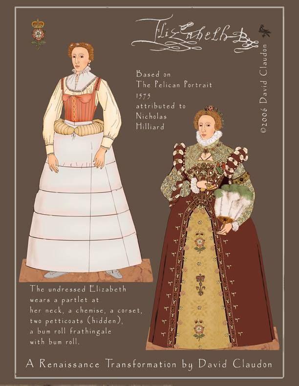 Pelican Gown - Queen Elizabeth 1   Elizabethan Costumes ...
