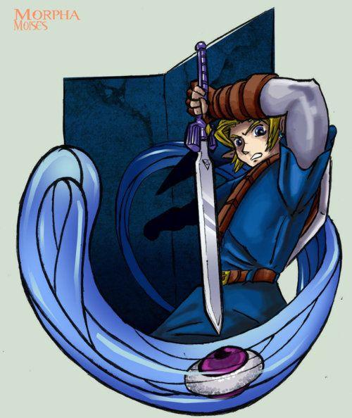 Legend of Zelda: Ocarina of Time Link/Morpha boss battle