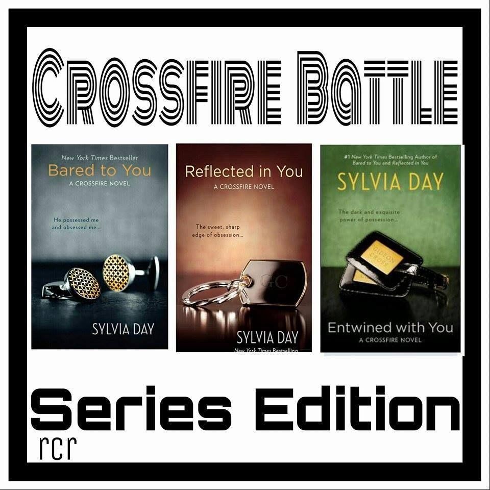 Crossfire series by sylvia day battle book boyfriends