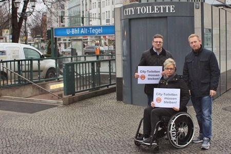 Öffentliche Citytoiletten in Berlin sichern und erhalten!