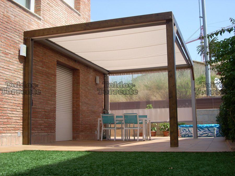 P rgolas de madera p rgolas y terrazas al detalle for Casetas para terrazas