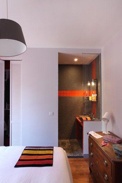 Installer un coin douche dans la chambre coins chambres Petite salle de bain dans chambre