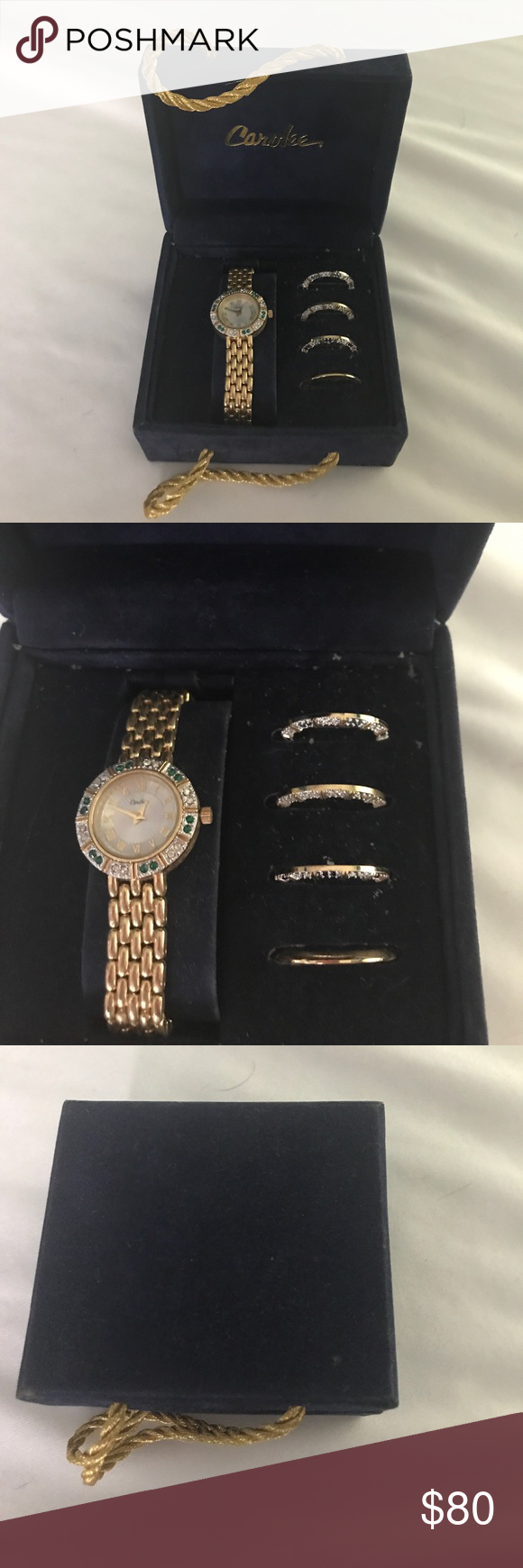 fashionwindows goldpearltogglewatch launches carolee watch toggle watches pearl gold network collection