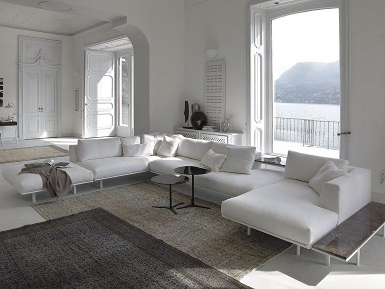 Great upholstered fabric sofa dakota corner sofa sofas - Interior designer famosi ...