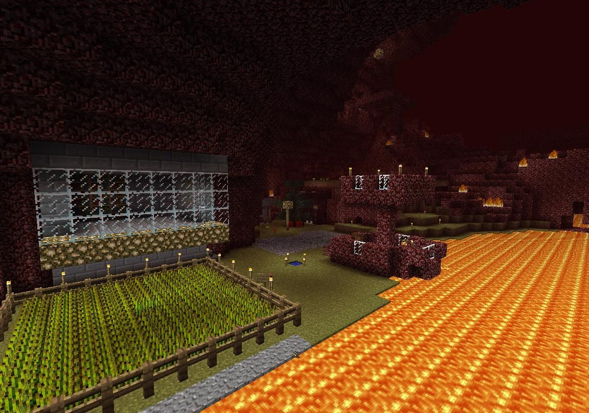 Minecraft Nether Builds Minecraft Architecture Building How To