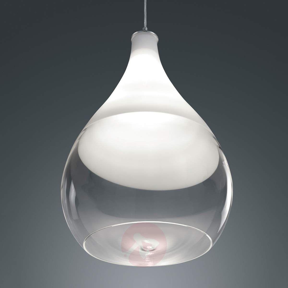 Lampa Wisząca Kingston Ze Szklanym Kloszem Lampy Wiszące W