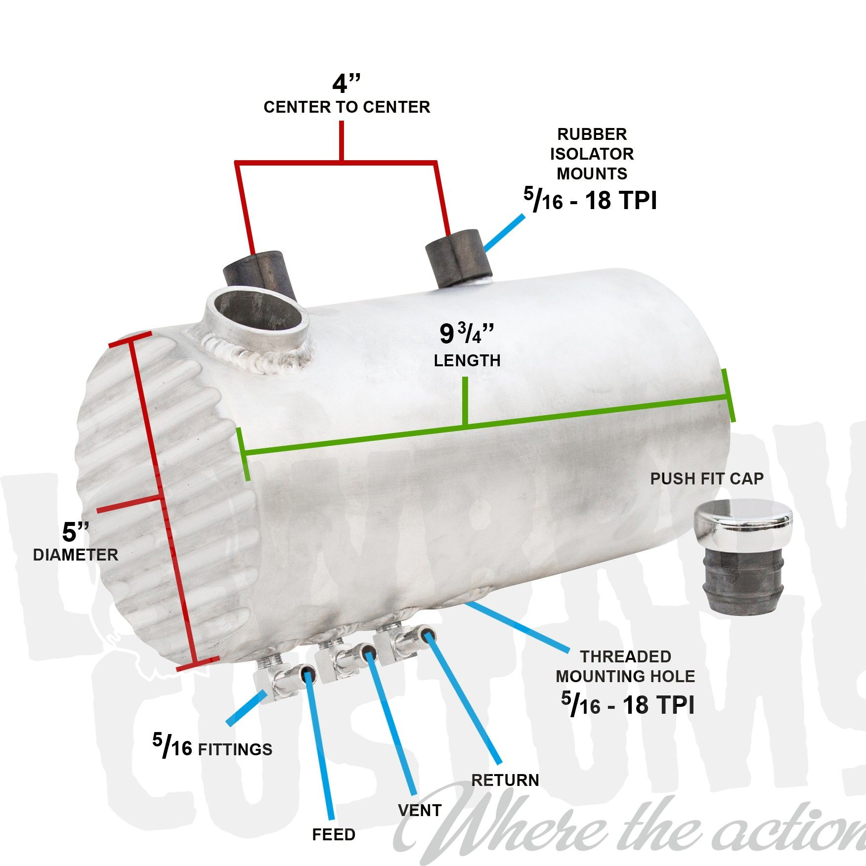 medium resolution of aluminum oil tank finned ends sportster raw finish