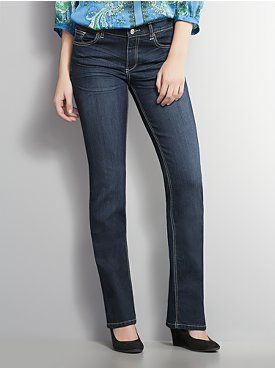 Classic Bootcut Jeans - Avalon Wash - Petite