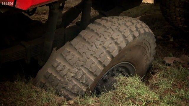 Marauder wins. Tire flat.