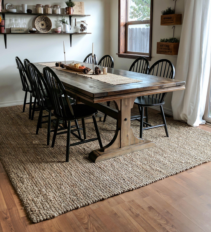 Farmhouse Dining Table Rug