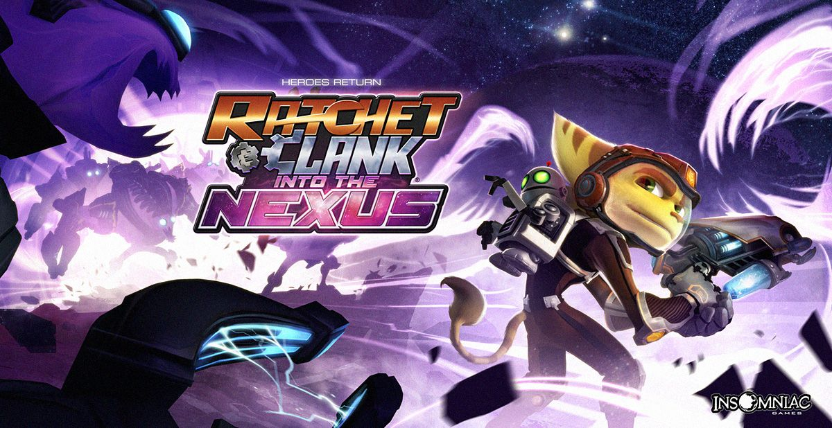 Ratchet And Clank Into The Nexus Available Now Ratchet