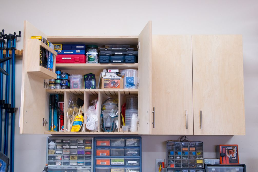 DIY Wall with 5 Storage Options in 2020 Diy