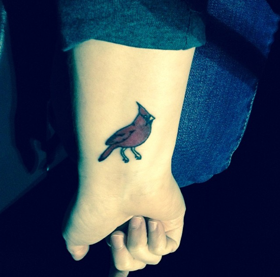 The 25 best small cardinal tattoo ideas on pinterest for Can fbi agents have tattoos