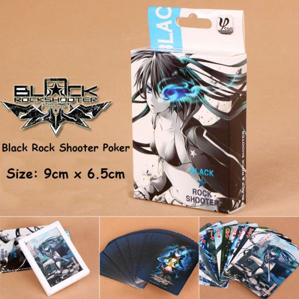 Black Rock Shooter Poker Black Rock Shooter Products