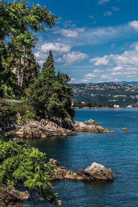 Croatia Kroatien Opatija Croatia Holiday Beautiful Places Beautiful Nature