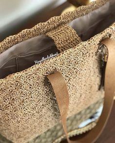 """Instagram'da Hayaller Dükkanı: """"Yeni bir modelle döndüysem demekki kağıt ipten çanta sezonu açılmıştır. 💖👜 Model: #shellstitch . . . #kağıtipçanta #kagitipcanta #kagitip…"""""""