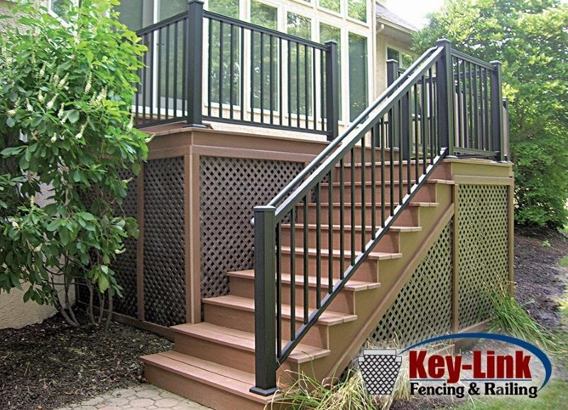 Provides A Safe And Secure Perimeter Around Your Porch