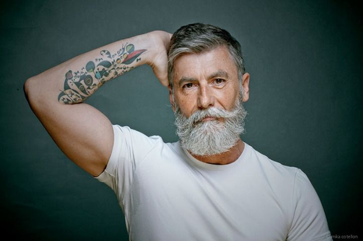 60-Year-Old Man Fulfills Lifelong Modeling Dream with Help