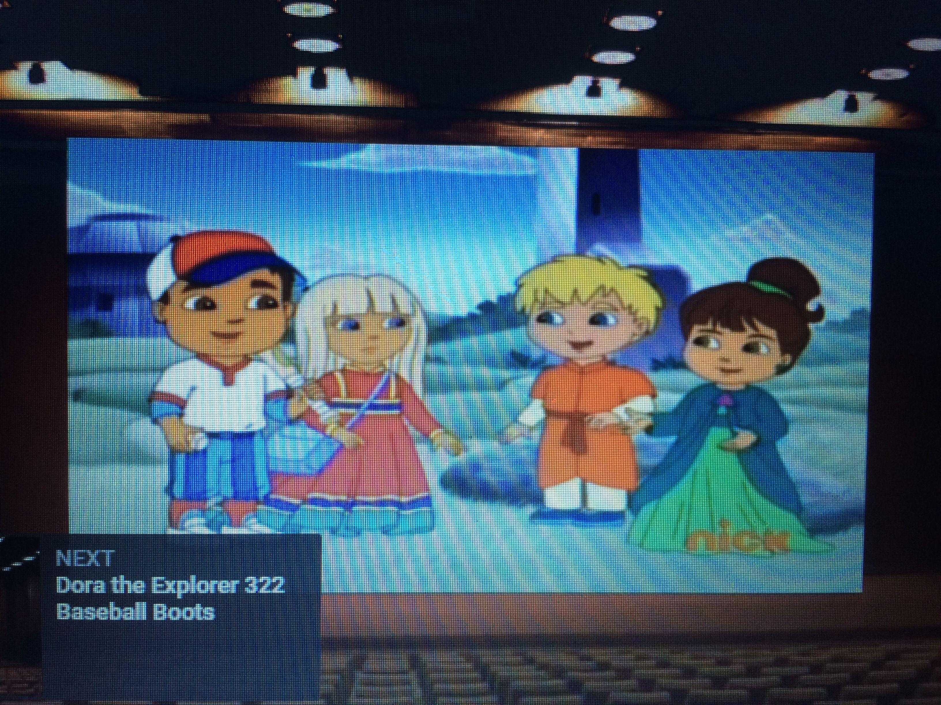Livedash Dora Explorer Boots Special Day