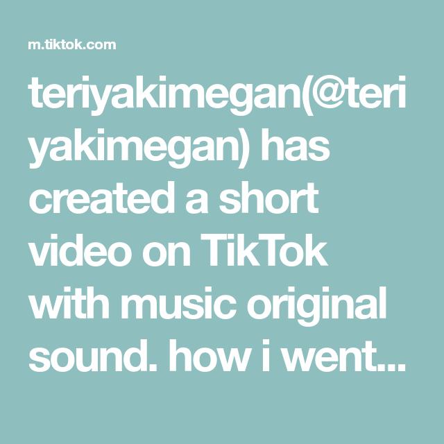 Teriyakimegan Teriyakimegan Has Created A Short Video On Tiktok With Music Original Sound How I Went Blonde Pink Purpl The Originals Spring Diy Sticker Shop