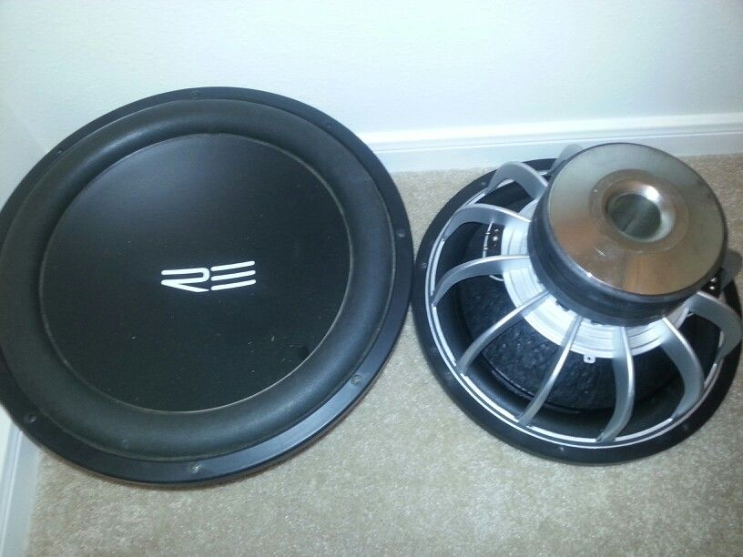"RE SX 15"" Subwoofers (LOUD!!!) (With images) 15 subwoofer"