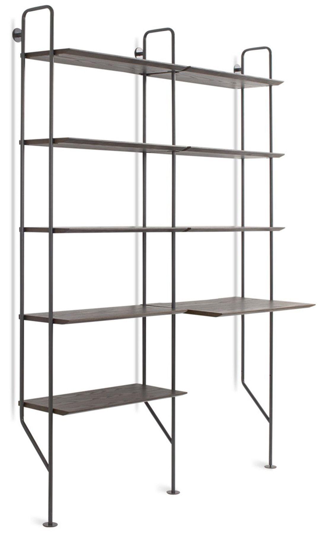 Hitch Bookshelf Add On Kit Modern Bookcase Ladder Bookcase