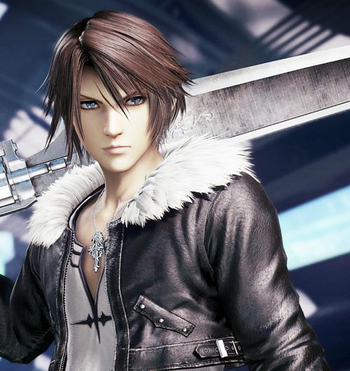 Squall Leonhart Final Fantasy Final Fantasy Cloud Final