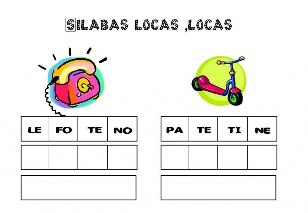 El Juego De Las Sílabas Locas Escuela En La Nube Silabas Juegos De Silabas Juegos De Enseñanza